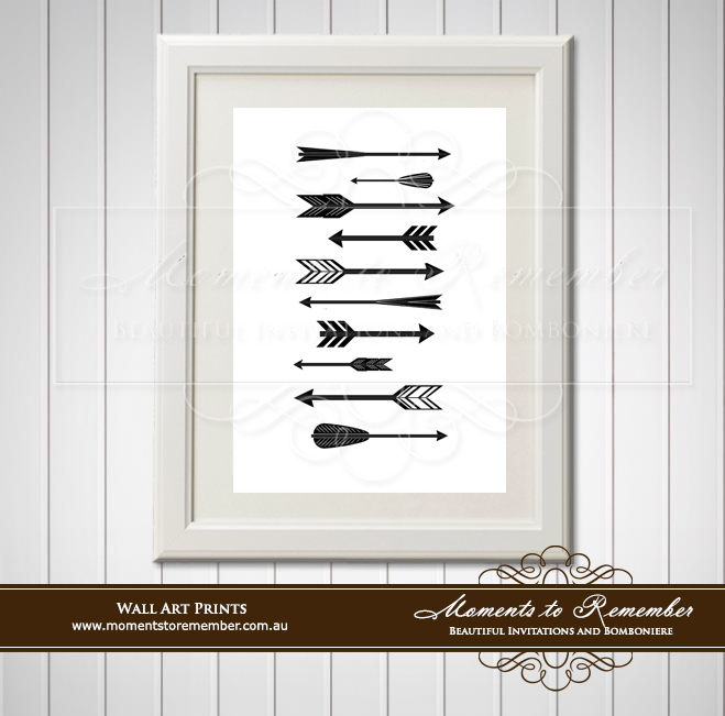 Children's Wall Art - Arrows