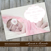 Birth Announcement 13