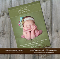 Birth Announcement 15