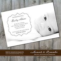 Birth Announcement 04