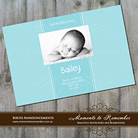 Birth Announcement 05