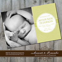 Birth Announcement 08