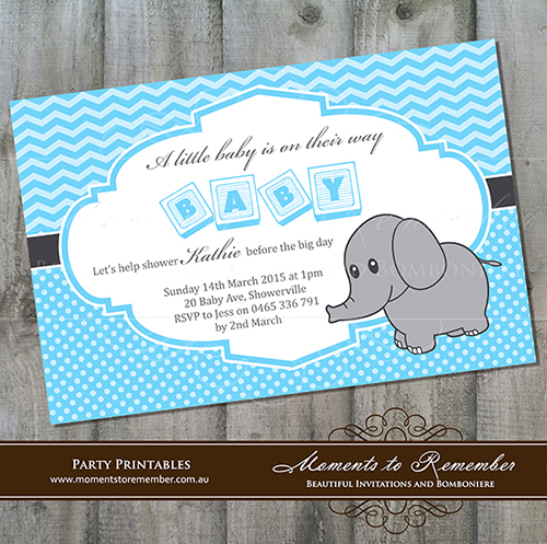 Baby Shower Invitation 01