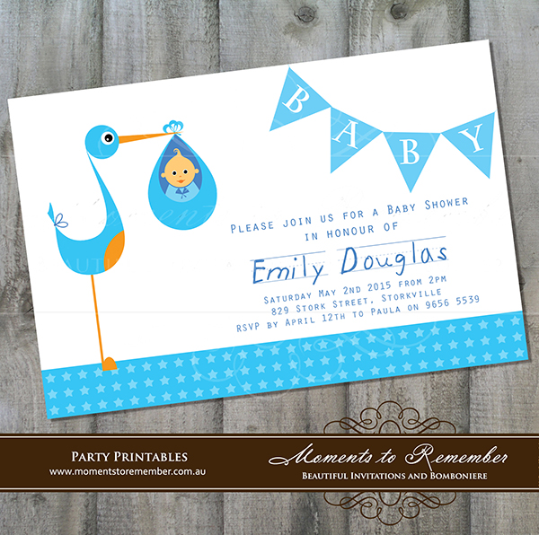 Baby Shower Invitation 03