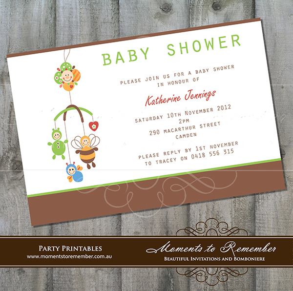 Baby Shower Invitation 05