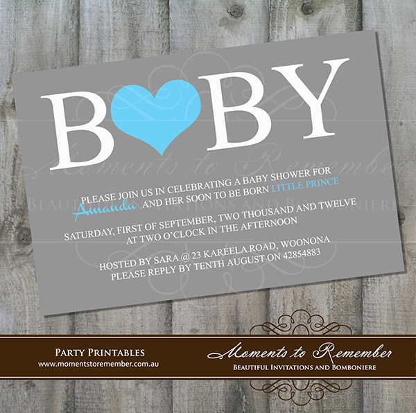 Baby Shower Invitation 06