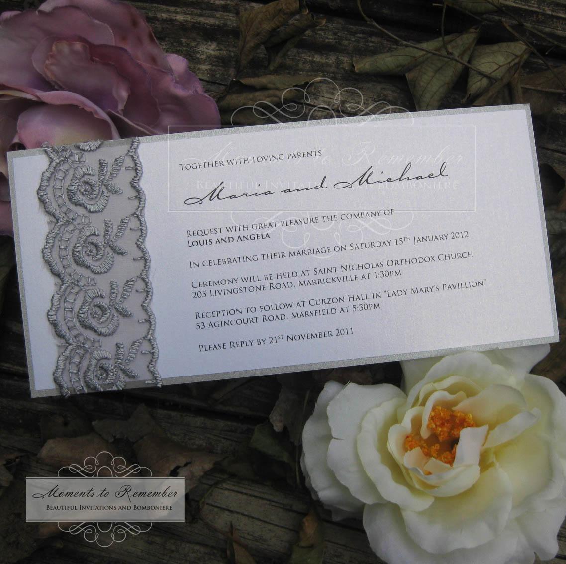 Simplistic Invitations