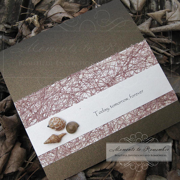 Wedding Invitations - Beach