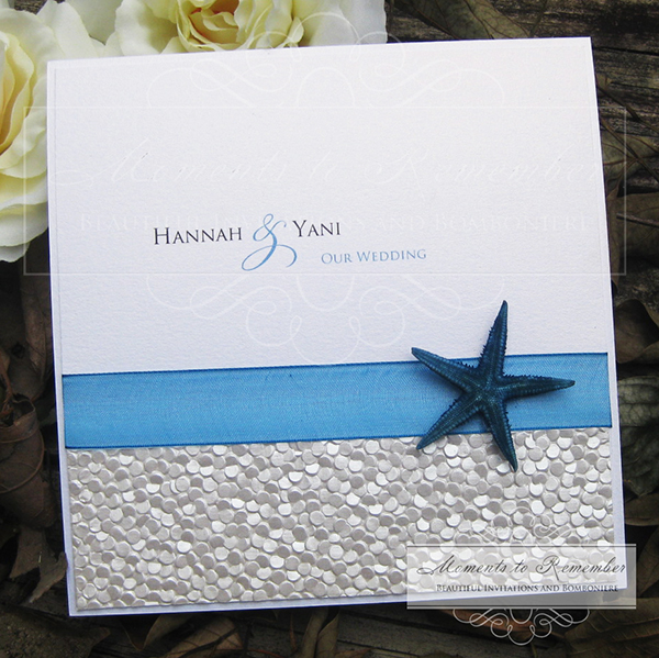 Wedding Invitations - Beachside