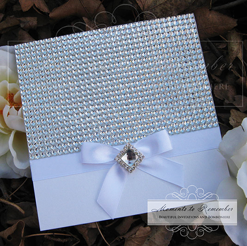 Wedding Invitations - Bling Ultimo
