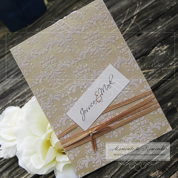 Wedding Invitations - Chloe
