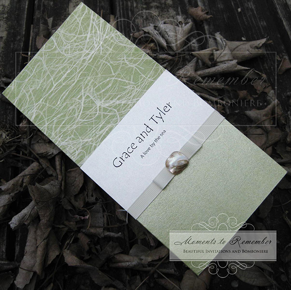 Wedding Invitations - Coastline