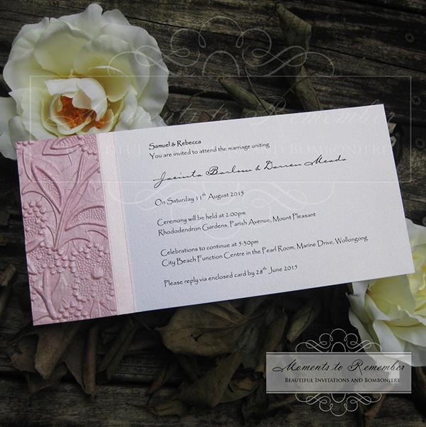 Wedding Invitations - Flourish
