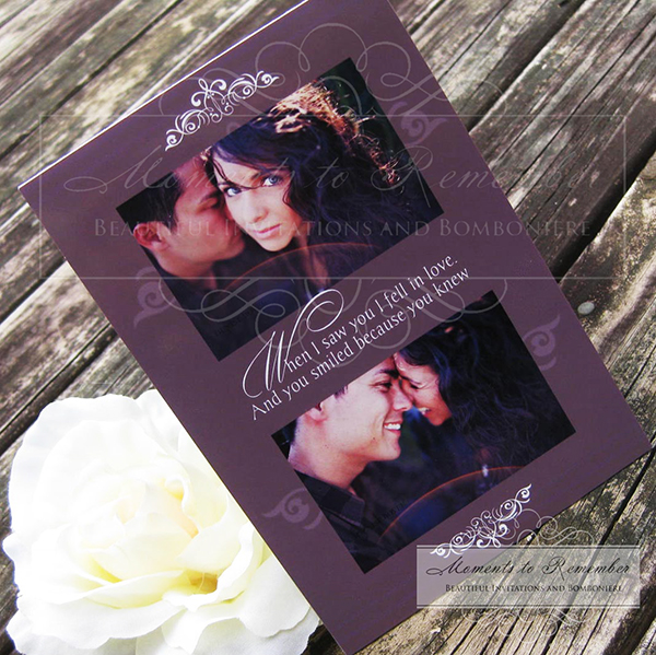 Wedding Invitations - Lust