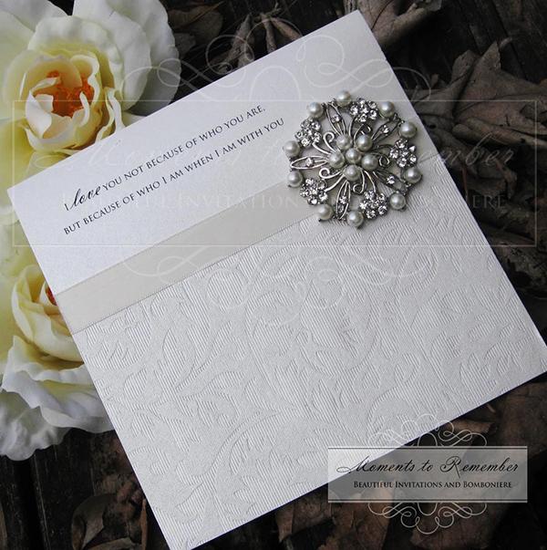 Wedding Invitations - Luxurious