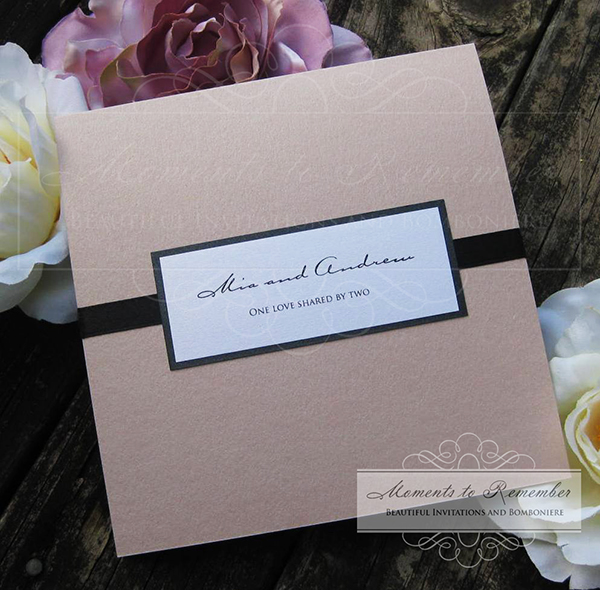 Wedding Invitations - Modern Lines