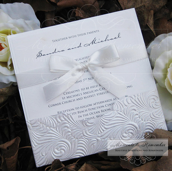 Wedding Invitations - Pocket Classic