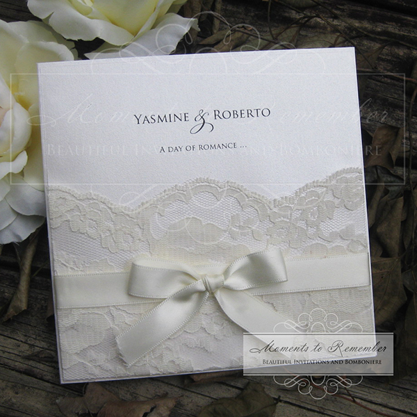 Wedding Invitations - Romance