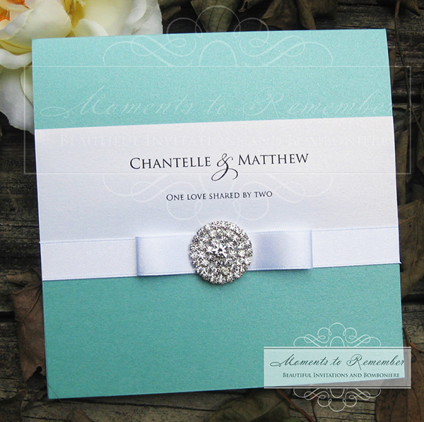 Wedding Invitations - Tiffany