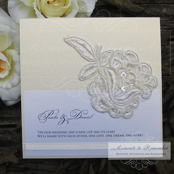 Wedding Invitations - Vintage Love