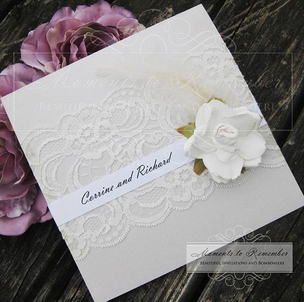 Wedding Invitations - Vintage Splendor