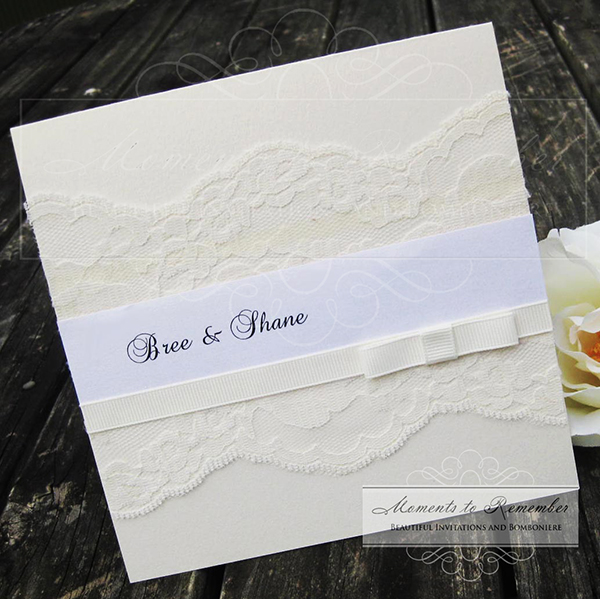 Wedding Invitations - Vintage Timeless