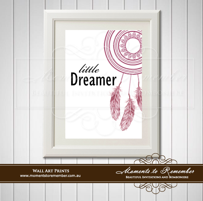 Children's Wall Art - Little Dreamer