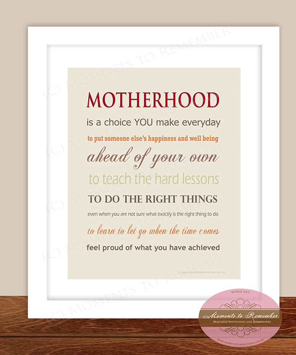 Mother's Print 10