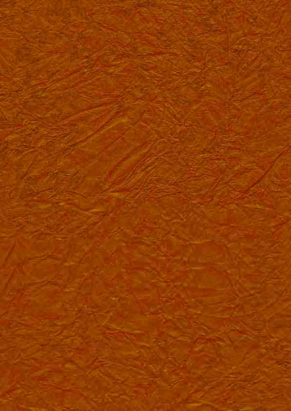 SALE - A4 Satin Crush Orange Paper