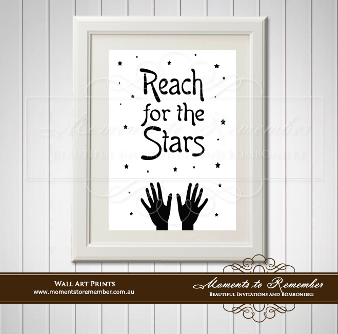Children's Wall Art - Reach for the Stars