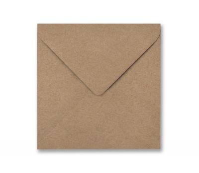SALE - Envelopes Large Square Gold Kraft